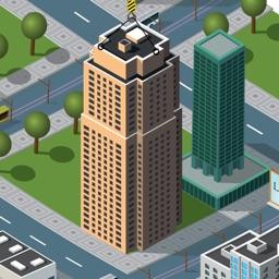 City Sky Tower Building Blocks