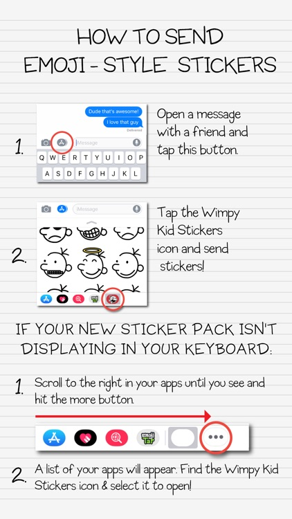 Wimpy Kid Emojis screenshot-5