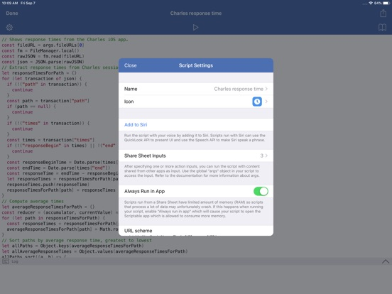 Image of Scriptable for iPad