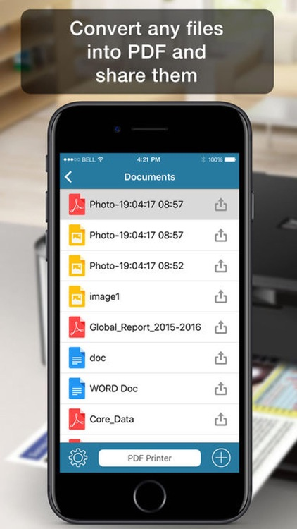 PDF Print All- Air Print Documents, Photos & Email