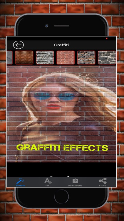 Graffiti Effects Photo Editor