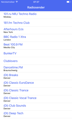 Radio Channel Techno FM Online Streaming on the App Store