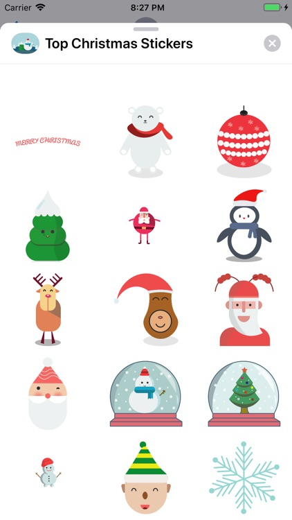Top Christmas Stickers