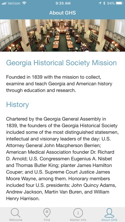 Georgia's Historical Markers screenshot-4