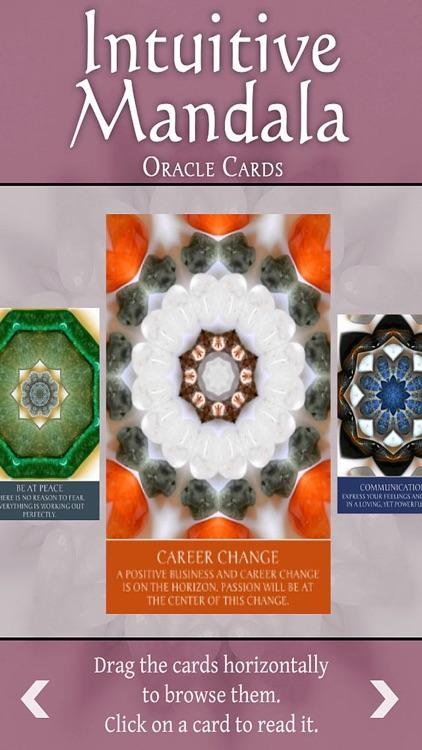 Intuitive Mandala Oracle Cards screenshot-3