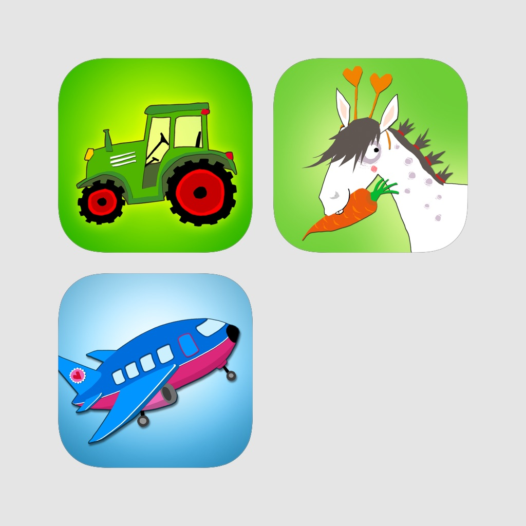 My First App Box: Vol.1 - 3 Vehicles, Circus and Airport
