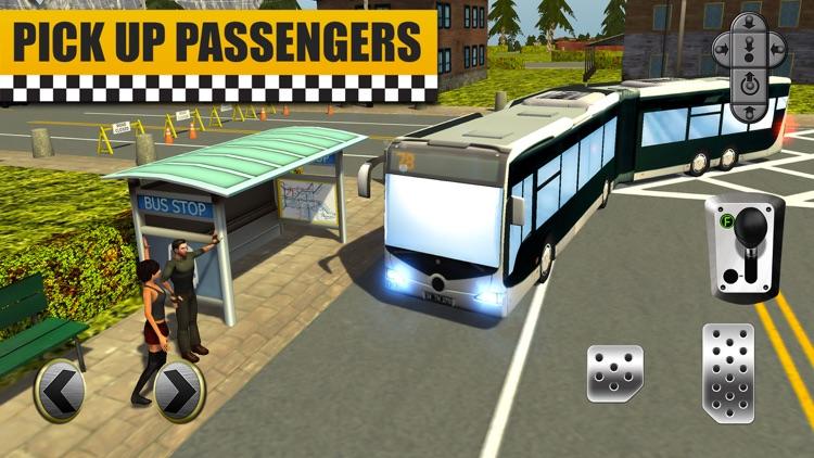 Bus & Taxi Driving Simulator screenshot-0