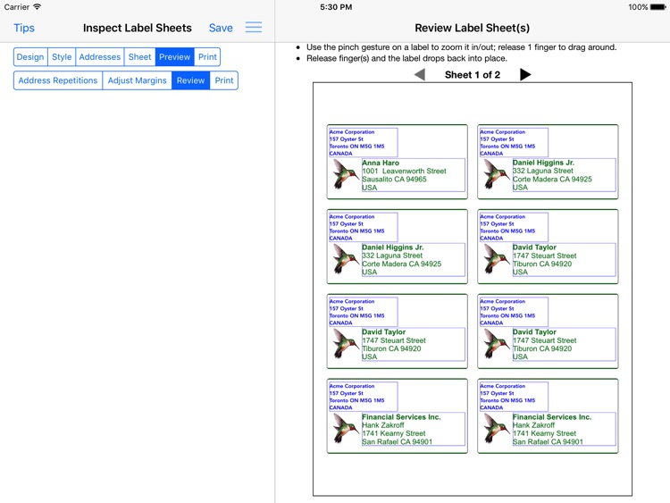 Address Label Creator screenshot-4