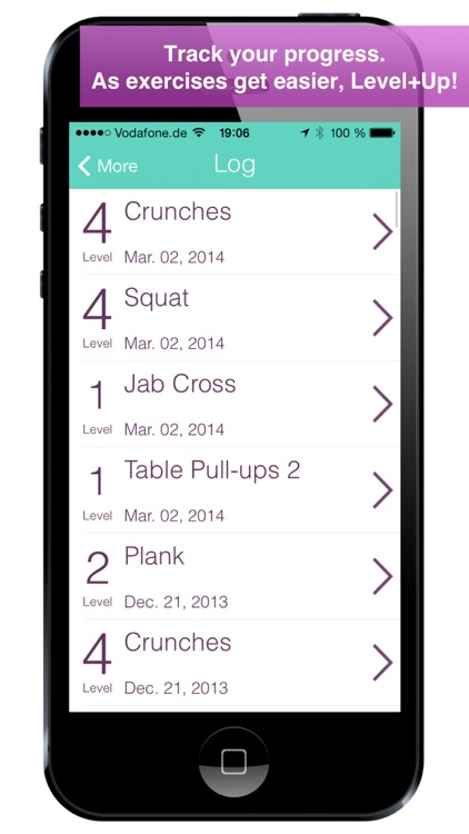 Level+Up Bodyweight Workout, Exercise and Fitness screenshot-4