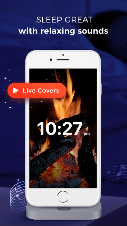 Sleep Timer - relaxing melodies & sleep sounds screenshot-0