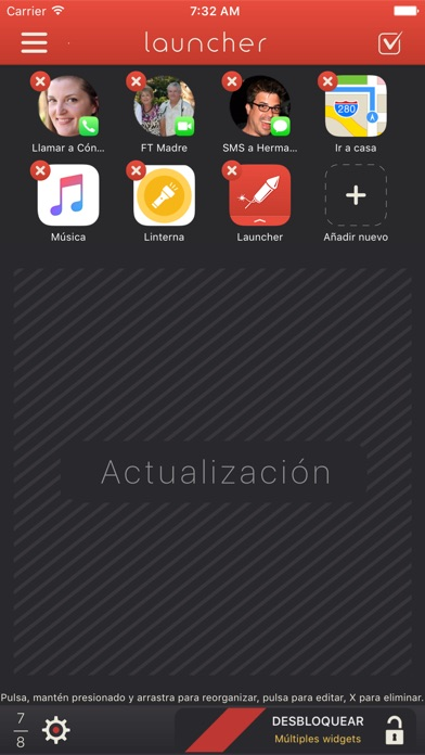 download Launcher con widget apps 1