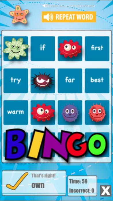 Word Bingo review screenshots