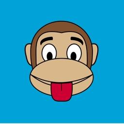 Monkey Face Emoji Stickers