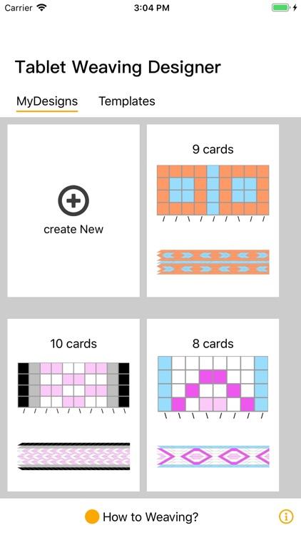 Tablet Weaving Designer screenshot-0