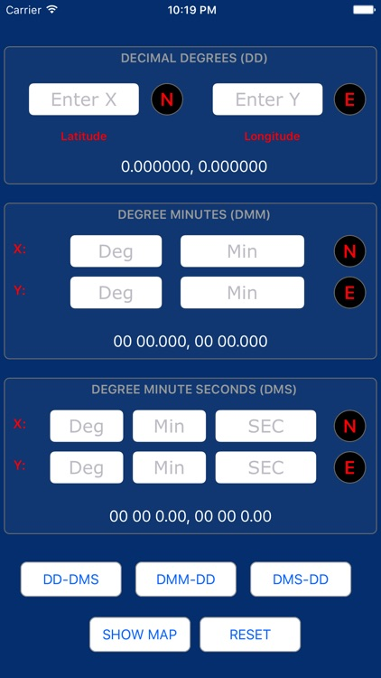 Latitude Longitude (Co-ordinate) Converter screenshot-4