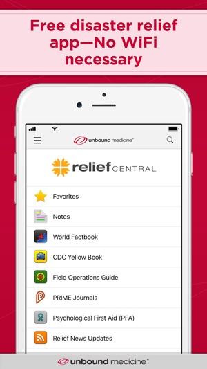 Relief Central on the App Store