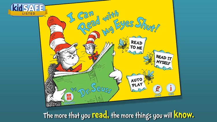 I Can Read With My Eyes Shut! - Dr. Seuss