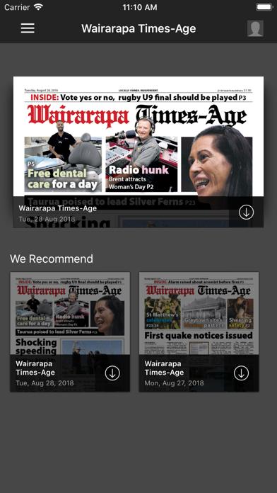 Wairarapa Times-AgeScreenshot of 1