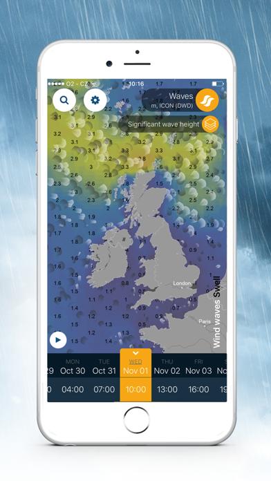 Ventusky: 天気予報スクリーンショット