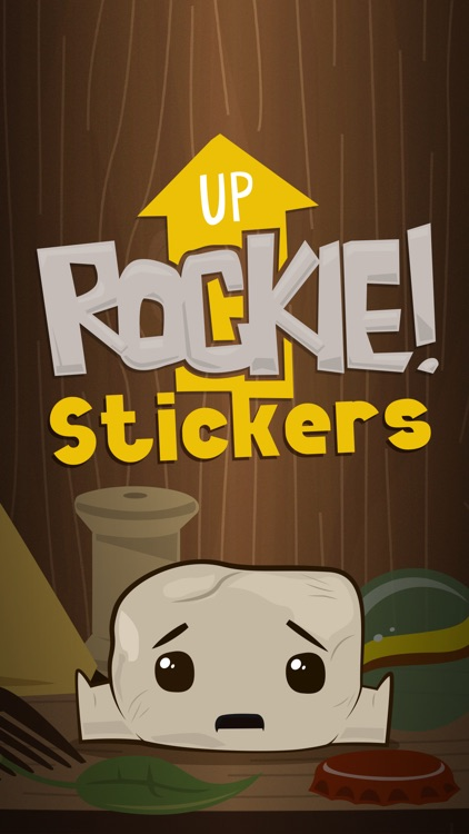 Up Rockie! - Stickers