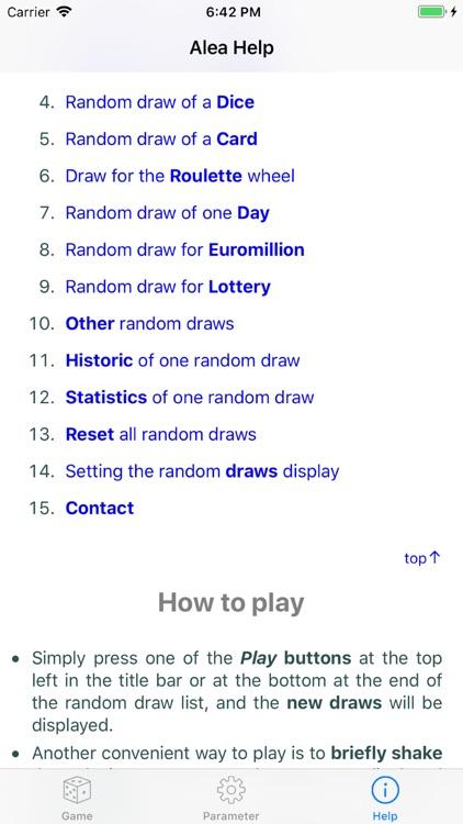 Drawing lots for board games screenshot-9