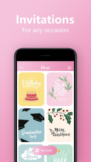 Invitation Maker Greeting Card On The App Store