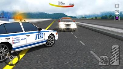 市パトカーの追跡3Dのおすすめ画像3