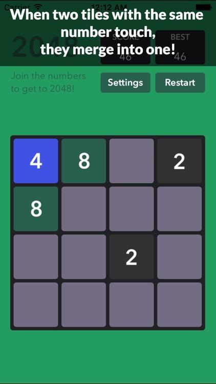 1048 Number Puzzle game screenshot-3