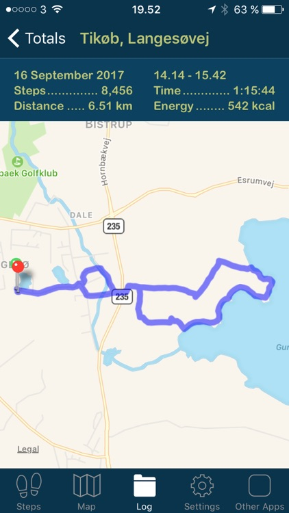 iSteps GPS Pedometer PRO screenshot-3