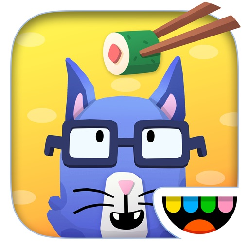 Toca Kitchen Sushi app for ipad