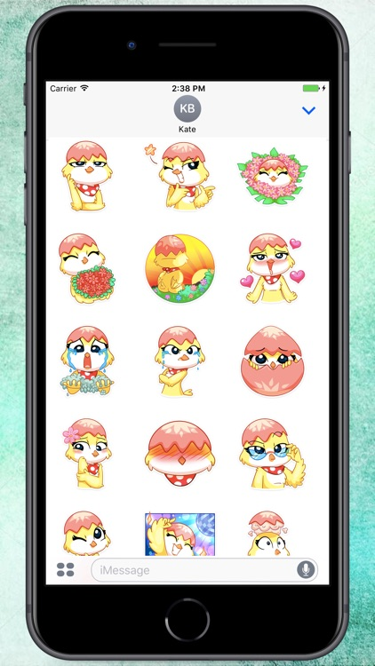 Happy Duck Stickers