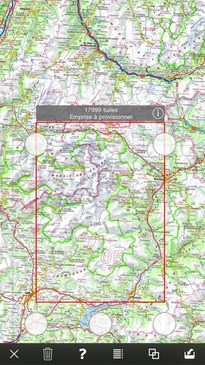 iPhiGéNie, maps of France screenshot-3