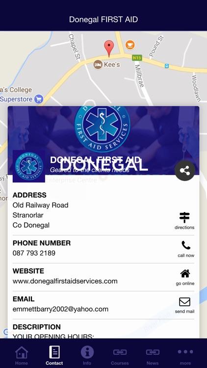 Donegal FIRST AID screenshot-4