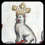 Medieval Cats Stickers