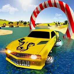 Car Racing Water Surfing Games
