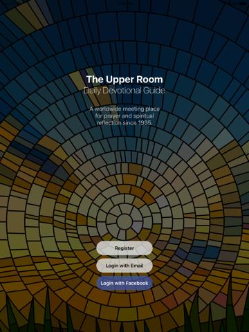 Screenshot of Upper Room Daily Devotional
