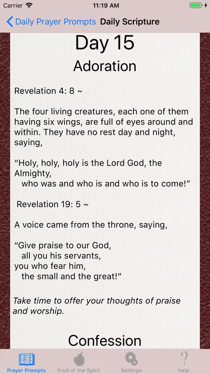 Christian Prayer Guide screenshot-1