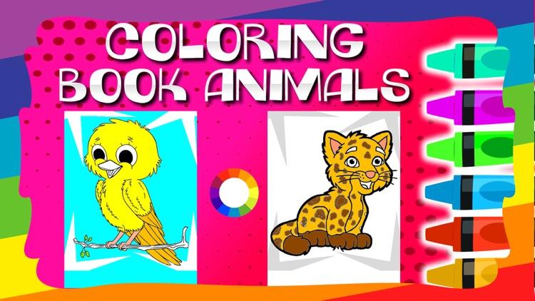 Coloring Book / Animals screenshot-4