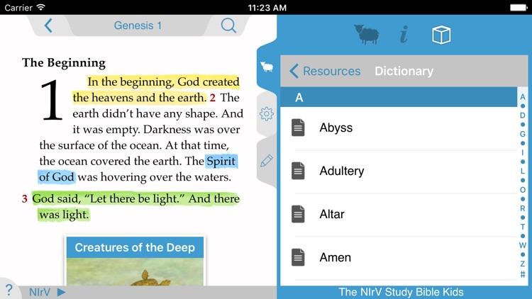 NIrV Study Bible for Kids screenshot-4