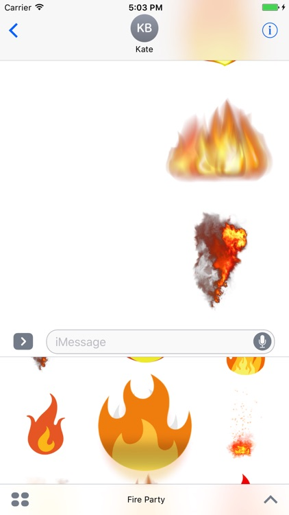 Fire Party Stickers screenshot-3