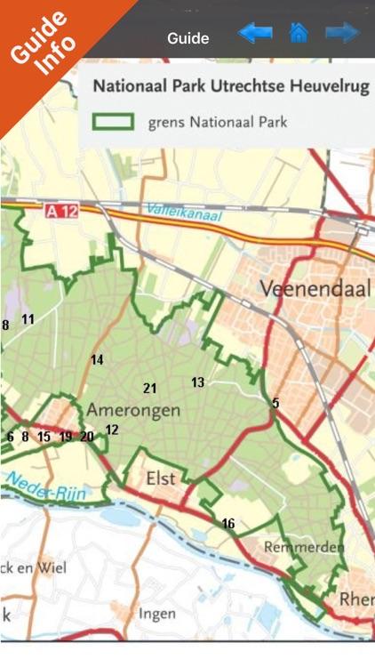 Utrechtse Heuvelrug NP GPS Map screenshot-3