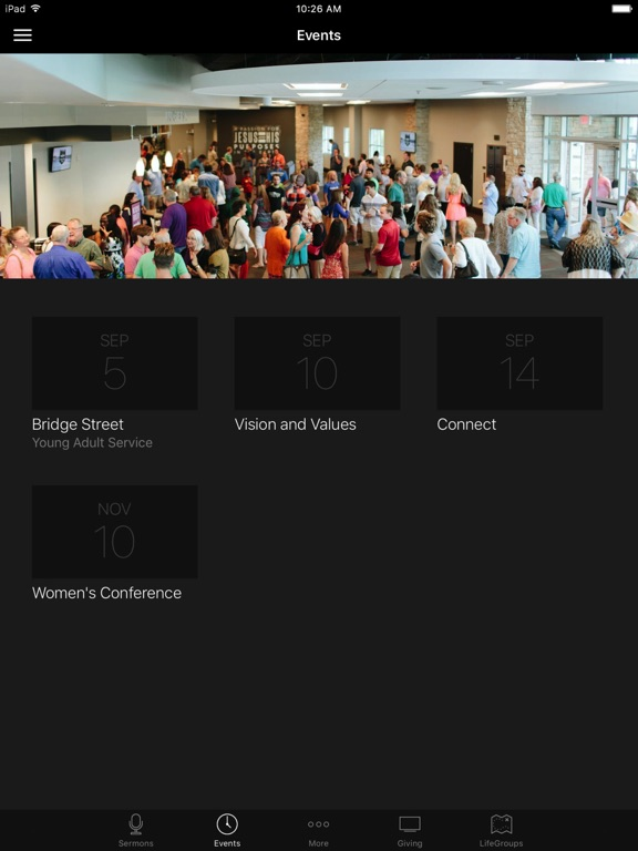 Antioch Community Church Waco screenshot 5