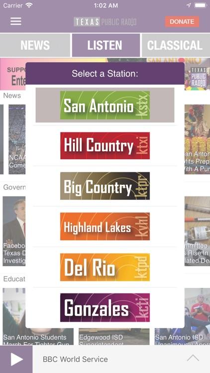 Texas Public Radio App screenshot-3