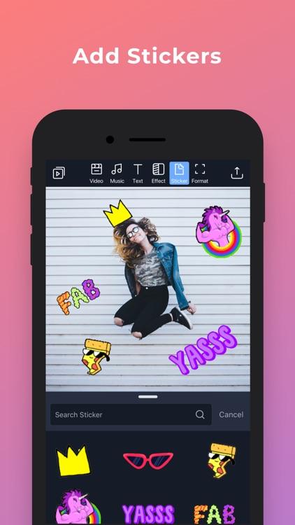 Filmr- vertical video editor screenshot-6