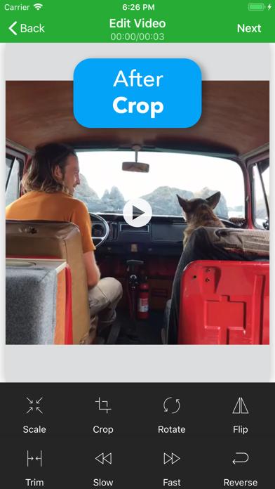 Video Fix - Rotate, Crop, Flip Screenshots