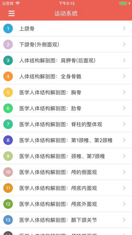 人体解剖图 - 全彩高清医学专业典籍 screenshot-3