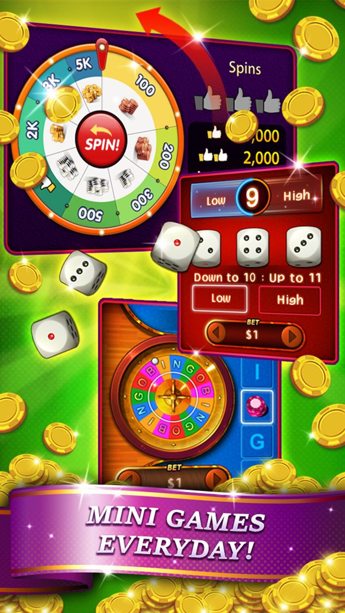 Bingo City 75 + Slots & Poker Screenshot