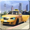 疯狂的黄色出租车速度十字架城市交通信号驱动模拟2k18