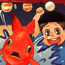 漢字金魚すくい