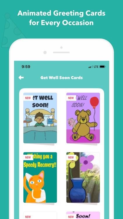 CardSnacks Ecards Greetings Screenshot 4